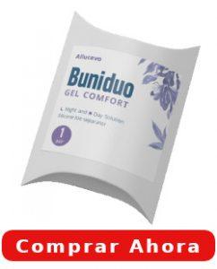 buniduo gel comfort efectos